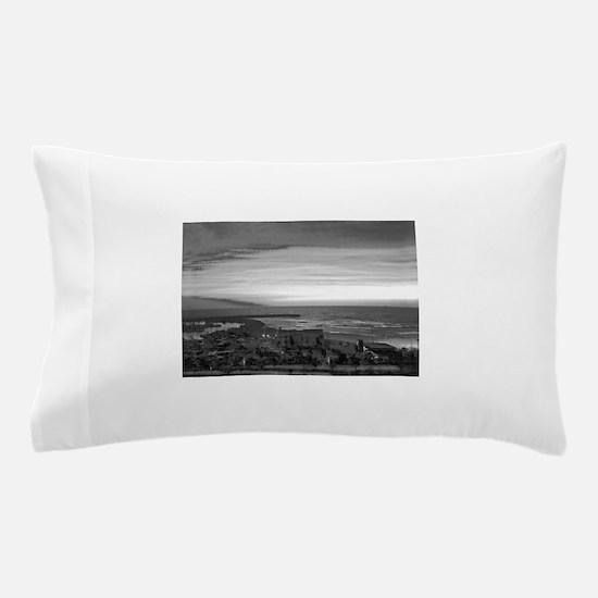 Black & White Sunset Pillow Case