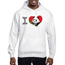 I heart pandas Hoodie