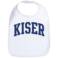 KISER design (blue) Bib