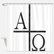 Alpha Omega Shower Curtain