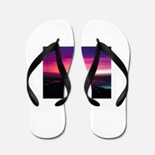 Beautiful Sunset Flip Flops