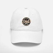 Dads BBQ Vintage Baseball Baseball Baseball Cap