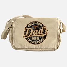 Dads BBQ Vintage Messenger Bag
