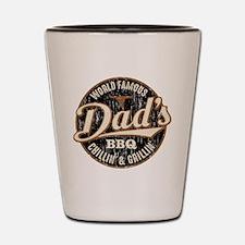 Dads BBQ Vintage Shot Glass