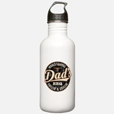 Dads BBQ Vintage Water Bottle