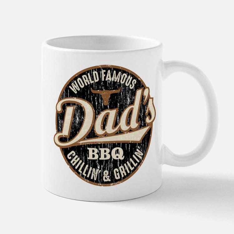 Dads BBQ Vintage Mugs