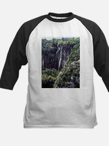 Waterfalls in Croatia Baseball Jersey