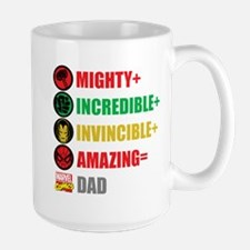 Marvel Dad Personalized Mug