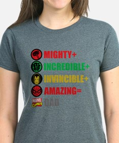 Marvel Dad Personalized Tee