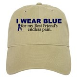 I wear blue for my best friend Hats & Caps