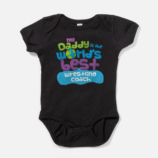 Wrestling Coach Gifts for Kids Baby Bodysuit