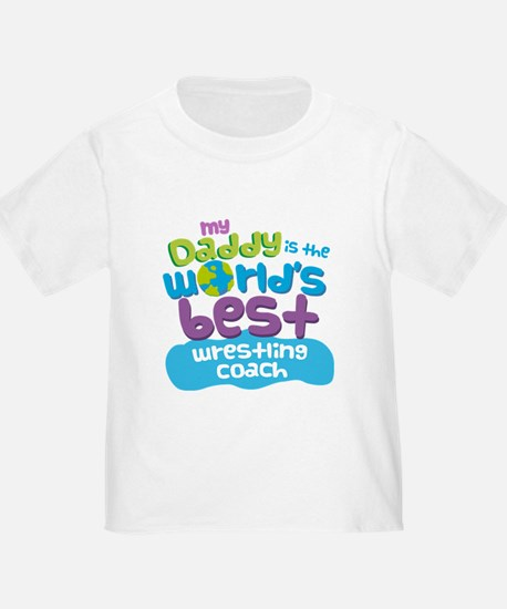 Wrestling Coach Gifts for Kids T