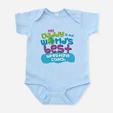 Wrestling Coach Gifts for Kids Infant Bodysuit