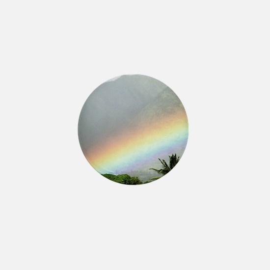 Manoa Valley Rainbow Hawaii Mini Button