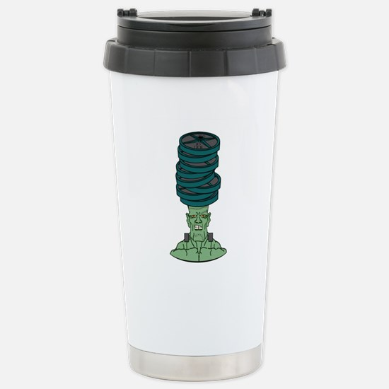 Frankenstein under weig Stainless Steel Travel Mug