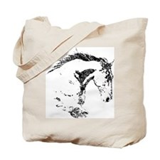 Cute Horseback Tote Bag