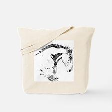 Cute Horseback riding Tote Bag