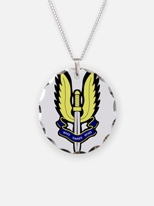 SAS Badge Necklace