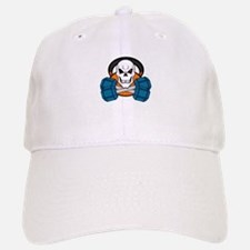 Skull love's weights Baseball Baseball Cap