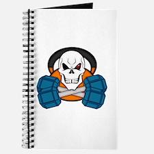 Skull love's weights Journal