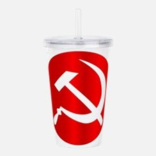 Russian Hammer and Sic Acrylic Double-wall Tumbler