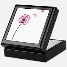 Dandelion Heart Seed Lovers Keepsake Box