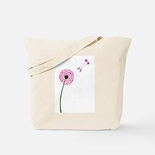 Dandelion Heart Seed Lovers Tote Bag