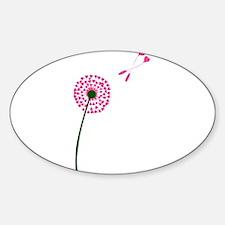 Dandelion Heart Seed Lovers Decal