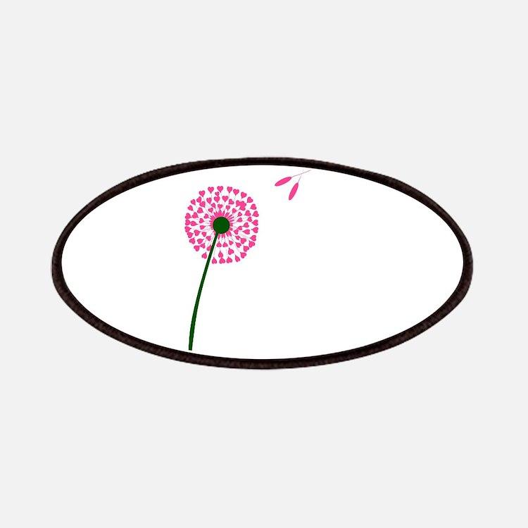 Dandelion Heart Seed Lovers Patch