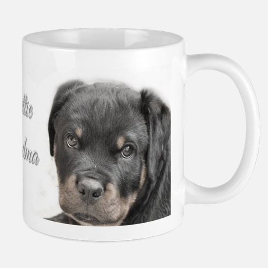 Rottweiler Grandma Mugs