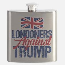 Londoners Against Trump Flask