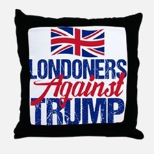 Londoners Against Trump Throw Pillow