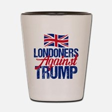 Londoners Against Trump Shot Glass