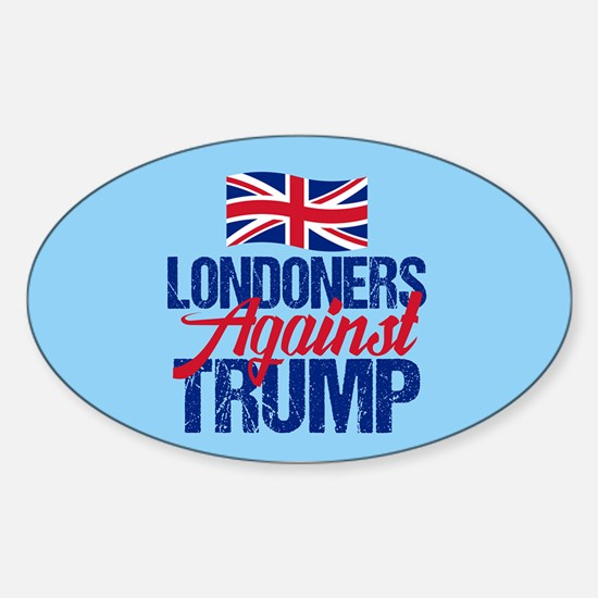 Londoners Against Trump Sticker (Oval)