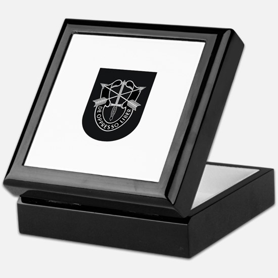 Special Forces Liberator Keepsake Box