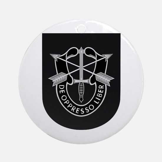 Special Forces Liberator Round Ornament