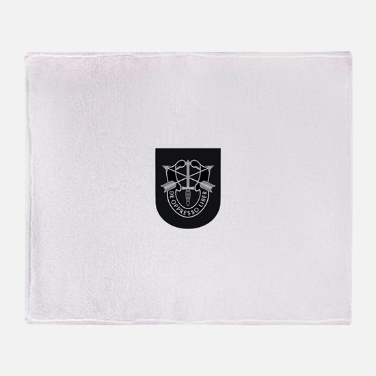Special Forces Liberator Throw Blanket
