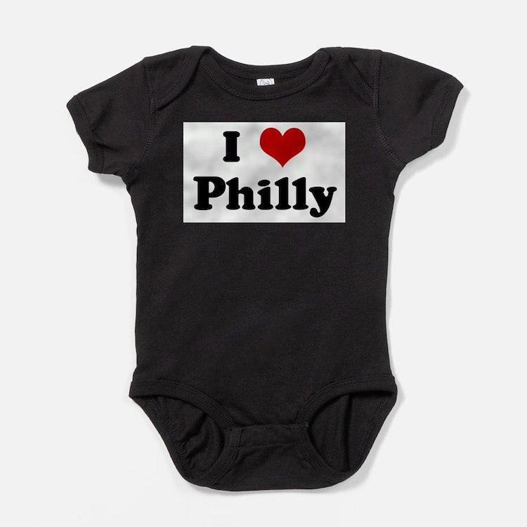 Cute Phils Baby Bodysuit