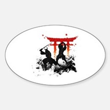 Cool Samurai Decal