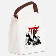 Unique Ninja Canvas Lunch Bag
