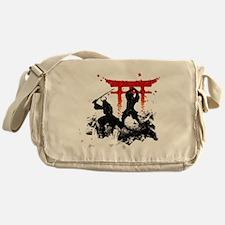 Unique Samurai Messenger Bag