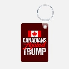 Canadians Against Trump Keychains