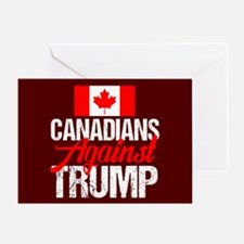 Canadians Against Trump Greeting Card