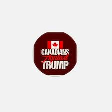 Canadians Against Trump Mini Button