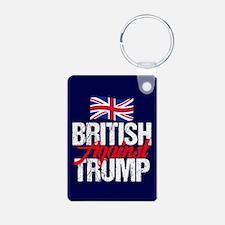 British Against Trump Keychains
