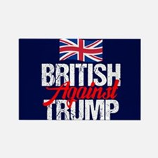 British Against Trump Rectangle Magnet