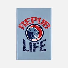 Repub Life Rectangle Magnet