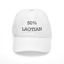 50% Laotian Baseball Cap