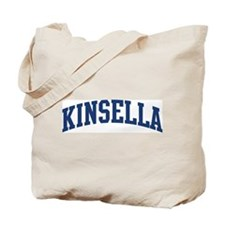 KINSELLA design (blue) Tote Bag
