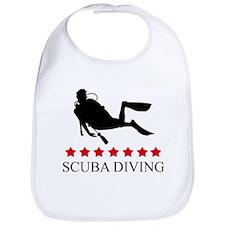 Scuba Diving (red stars) Bib